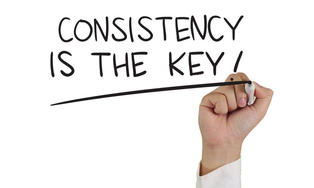 Online succes door consistentie