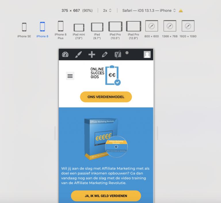 Tip: responsive webdesign